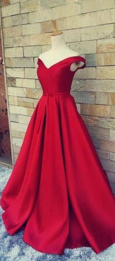 Charming Red Carpet Dress, Long For