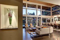 diseño de salón de Forest House