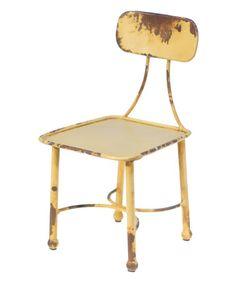 Look at this #zulilyfind! Yellow Riser Chair #zulilyfinds