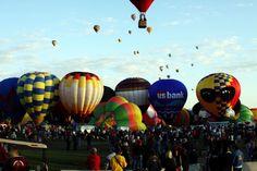 New Mexico- Albuquerque International Balloon Fiesta