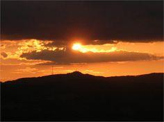 Un fantastico tramonto sulle colline del Chinati , ideale per i nostri amici Single.JPG