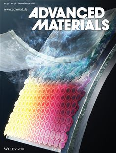 Advanced Materials: Vol 32, No 38 Perovskite Solar Cell, Department Of Mechanical Engineering, Thin Film, In Vivo, Short Waves, Materials Science, Cover Pics, Electrical Engineering