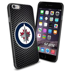 Winnipeg Jets Black Iron Net WADE1569 Hockey iPhone 6 4.7 inch Case Protection Black Rubber Cover Protector WADE CASE http://www.amazon.com/dp/B00WQEIPXM/ref=cm_sw_r_pi_dp_qndCwb056WN07