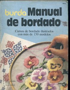 Foto: for oto Hand Embroidery Flowers, Types Of Embroidery, Embroidery Needles, Cross Stitch Embroidery, Embroidery Patterns, Embroidery Books, Cross Stitch Magazines, Cross Stitch Books, Applique Fabric