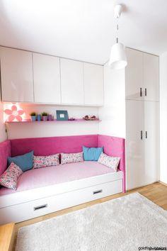 Little girls room transformation - contemporary - Kids - Goldfish-Interiors Small Bedroom Designs, Room Design Bedroom, Small Room Design, Baby Room Design, Home Room Design, Small Room Bedroom, Baby Room Decor, Home Bedroom, Bedroom Decor