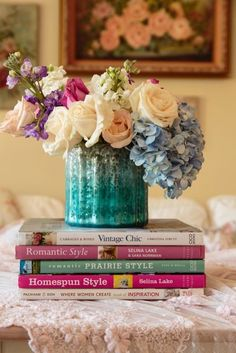 Fragrant floral blooms can help brighten and cheer up your interiors while you wait for the snow to thaw. Here are some ideas to get you started. #flower #decor #design