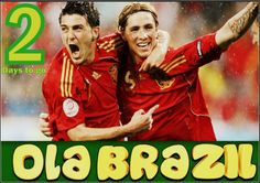 David Villa and Fernando Torres - World Cup's Double Delight!!!  Check out http://mofutbol.com/ to grab the latest updates of World Cup!!!