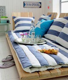 Beach Sofa - gemütlich, lässig, kreativ!