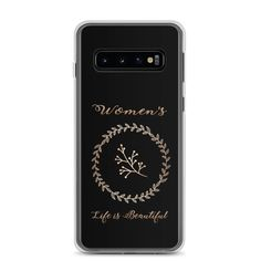 Women's life is Beautiful Samsung Hülle Pc Material, Women Life, Life Is Beautiful, Phone Cases, Slim, Life Is Good, Phone Case