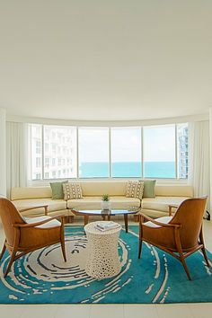 Designed by Lauren Rottet of Rottet Studio, The James puts a contemporary spin on Art Deco. #Jetsetter