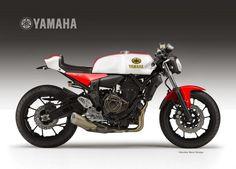 En fin d'année dernière, le designer bien connu dans le milieu du deux-roues, Oberdan Bezzi, présentait un concept de ce que pourrait être la nouvelle Yamaha TDM triple.