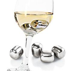 Wine Pearls, Drink Chilling Cubes, Keep Drinks Cold (without diluting!)
