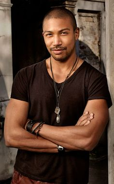 Charles Michael Davis Tumblr | Marcel, the former protégé of The Vampire Diaries ' Original vamp ...