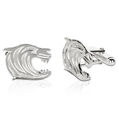 Leicester Tigers Crest Cufflinks - Sterling Silver: Leicester Tigers Crest Cufflinks - Sterling Silver… #Sport #Football #Rugby #IceHockey