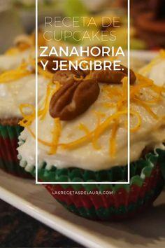 CUPCAKES DE ZANAHORIA Receta Saludable Facil y rapida para toda la familia