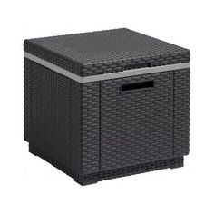Garden Ice Box New Travel Camping Cabinet Seat Chair Cooler Sunlounger Decking