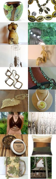Mother Earth (13) by Dara on Etsy--Pinned with TreasuryPin.com  #giftideas