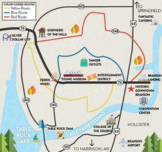 Map To Branson Free Wallpaper For MAPS Full Maps - Branson map pdf