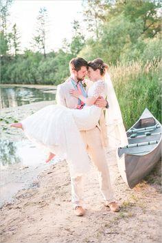 bride and groom captured by spottswood photography #brideandgroom #weddingphotography #weddingchicks http://www.weddingchicks.com/2014/01/24/pinterest-inspired-vintage-wedding/