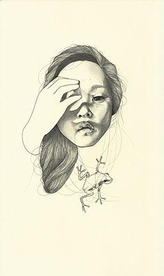 Artist - Haejung Lee  Title - Fear
