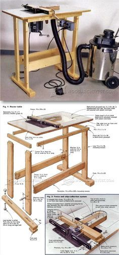 Building Router Table - Router Tips, Jigs and Fixtures | WoodArchivist.com