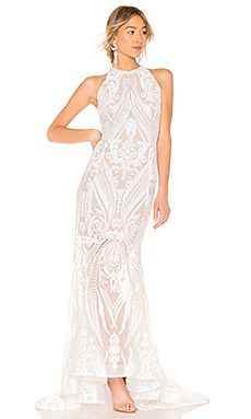 9866279b7cb6 Shop for Bronx and Banco Ester Gown in White at REVOLVE. Free 2-3