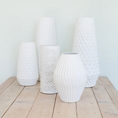 George & Co. porcelain table lamps available at Industria Store Ceramic Design, Table Lamps, Light Up, Porcelain, Vase, Room, Store, Home Decor, Bedroom