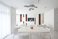White Dining Room Table Modern Rooms Orginally With Chairs