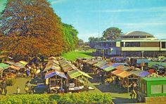 Dunstable Market by Lost-Albion, via Flickr. Really Old pic of Dunstable Market in the 70's I found on Flickr.