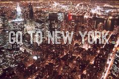 Repinned: Next stop on the #DestinationSummer road trip: New York!