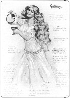 Angus McBride: River-woman's daughter
