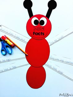 Create an insect model with this insect activity and craft that is perfect for kindergarten and first grade! Students can add insect facts to the legs!