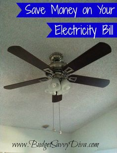 Save on Electricity by Changing Direction of Ceiling Fan