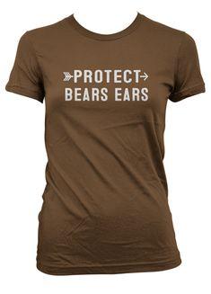 Protect Bears Ears T-shirt National Park Gifts, National Park Posters, Bear Ears, Bears, Mens Tops, T Shirt, Fashion, Supreme T Shirt, Moda