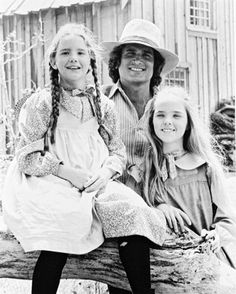 Little House On The Prairie - my childhood TV show. I grew up with Melissa Gilbert- we're the same age.