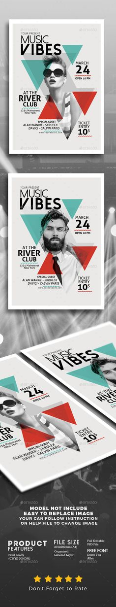 Minimal Music #Flyer Template - Events Flyers Download here: https://graphicriver.net/item/minimal-music-flyer-template/19611166?ref=alena994