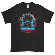 The new world order may not be what you expect. Order T Shirts, Mens Tops, Fashion, Moda, Fashion Styles, Fashion Illustrations