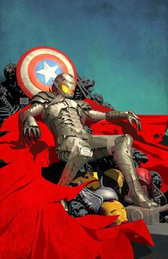 WHAT IF: AGE OF ULTRON #1 Comic Book Cover Art