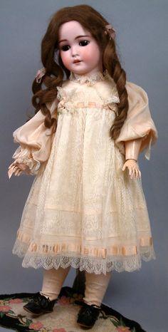 """*Ее Величество* 25"""" Антикварная Арманд Марсель """"Королева Луиза"""" Биск Куклы Всех Антикварных И Абсолютно Великолепна"""