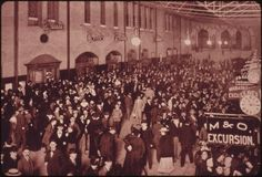 Station interior in 1895. St. Louis Union Station, a National Historic Landmark, was a passenger train terminal in St. Louis, Missouri.