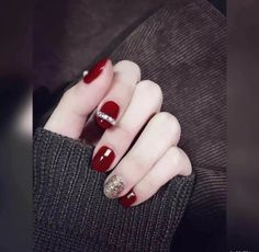 Winter Nails Simple Ideas