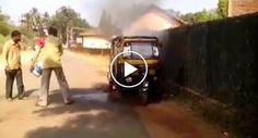 Homem Tenta Apagar Fogo Atirando Água Para Veículo Em Chamas e Só Piora A Situação http://www.desconcertante.com/homem-tenta-apagar-fogo-atirando-agua-para-veiculo-em-chamas-e-piora-situacao/