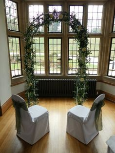 Archway inside coombe lodge