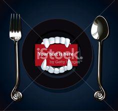 Vector of Halloween Vampire Teeth Royalty Free Stock Vector Art Illustration