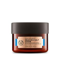 I want to try ALL of this new range looks fab!!! Spa of the World™ Dead Sea Salt Scrub | The Body Shop