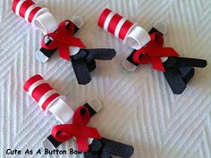 Cat in the Hat Ribbon Sculptured Clippie