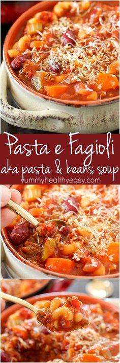 Pasta e Fagioli, whi