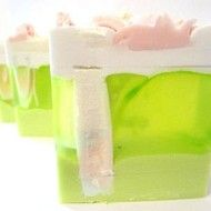 Issey Miyake Dupe in Lime Glycerine soap