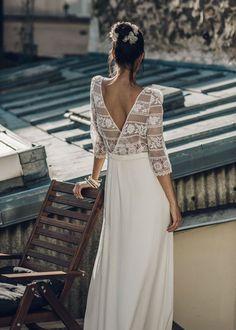 Wedding Dresses by Laure de Sagazan   Cool Chic Style Fashion