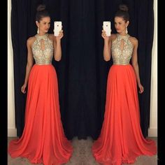Evening dresses for the wedding Evening dresses for the wedding prom dresses 2016 high neck evening dresses cheap bridesmaid dresses orange long dresses DJXNQAS Orange Long Dresses, Sexy Formal Dresses, Orange Bridesmaid Dresses, Sparkly Prom Dresses, Prom Dresses 2016, Cheap Evening Dresses, Prom Dresses With Sleeves, Prom Gowns, Dress Prom